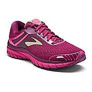 Womens Brooks Adrenaline GTS 18 Running Shoe - Pink/Plum 9