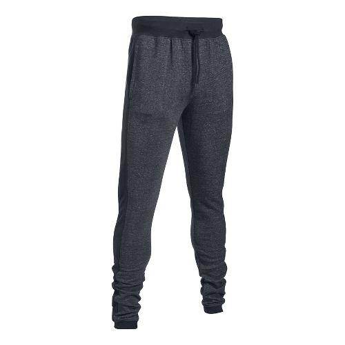Mens Under Armour Sportstyle Flegging Pants - Black/Black 4XL