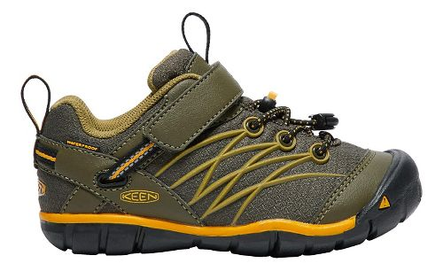 Kids Keen Chandler CNX WP Casual Shoe - Olive/Citrus 11C