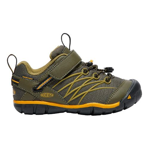 Kids Keen Chandler CNX WP Casual Shoe - Olive/Citrus 9C