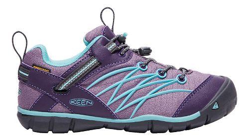 Kids Keen Chandler CNX WP Casual Shoe - Grape/Aqua 1Y