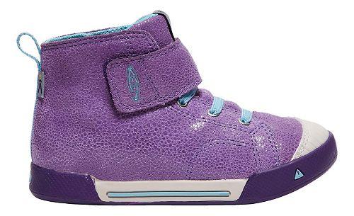 Kids Keen Encanto Scout High Top Casual Shoe - Purple/Aqua 12C