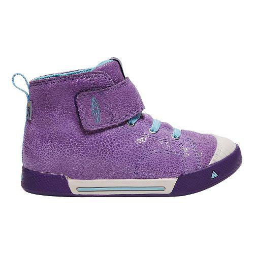 Kids Keen Encanto Scout High Top Casual Shoe - Purple/Aqua 10C