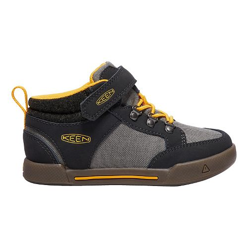 Kids Keen Encanto Wesley II High Top Casual Shoe - Raven/Grey 10C