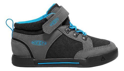 Kids Keen Encanto Wesley II High Top Casual Shoe - Magnet/Black 8C