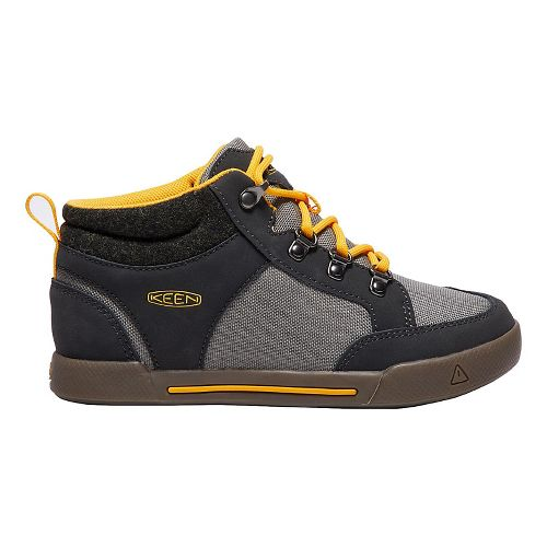 Kids Keen Encanto Wesley II High Top Casual Shoe - Raven/Grey 6Y