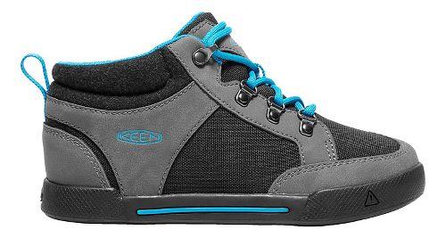 Kids Keen Encanto Wesley II High Top Casual Shoe - Magnet/Black 2Y