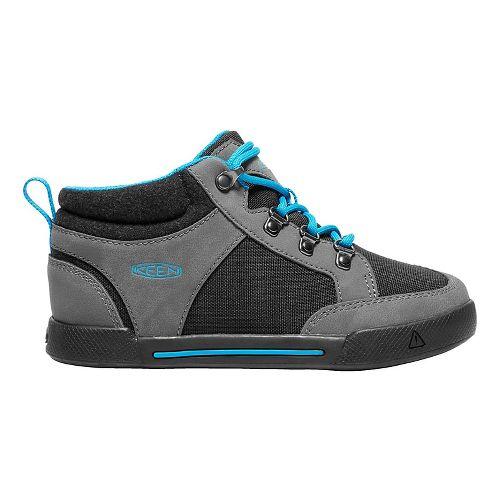 Kids Keen Encanto Wesley II High Top Casual Shoe - Magnet/Black 4Y