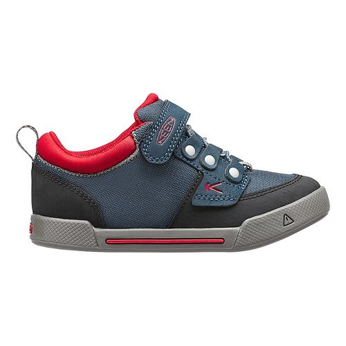 Kids Keen Encanto Wesley Low Casual Shoe - Navy/Formula One 8C