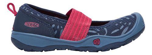 Kids Keen Moxie Gore Flat Casual Shoe - Blue/Raspberry 6Y