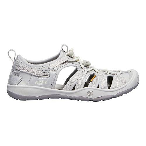 Kids Keen Moxie Sandal Sandals Shoe - Purple/Greenery 4Y