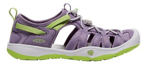 Kids Keen Moxie Sandals Shoe - Purple/Greenery 6Y
