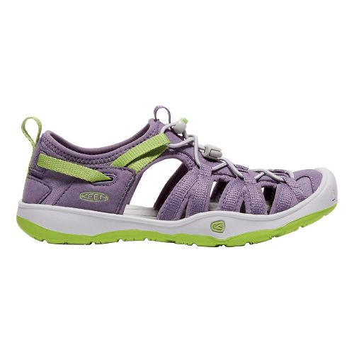 Kids Keen Moxie Sandals Shoe - Purple/Greenery 1Y