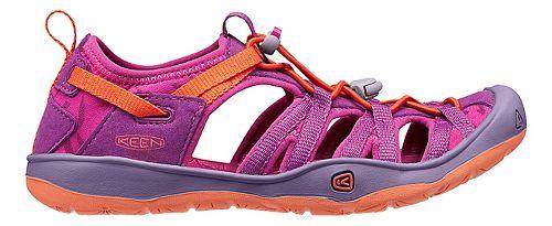 Kids Keen Moxie Sandals Shoe - Purple Wine 4Y