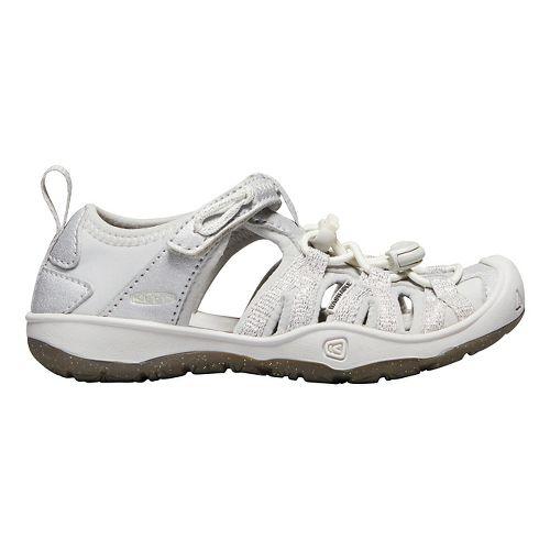 Kids Keen Moxie Sandal Sandals Shoe - Silver 8C