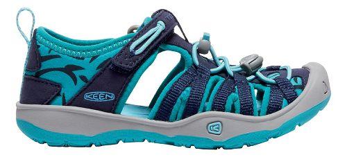 Kids Keen Moxie Sandals Shoe - Blue/Viridian 10C