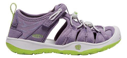 Kids Keen Moxie Sandals Shoe - Purple/Greenery 11C