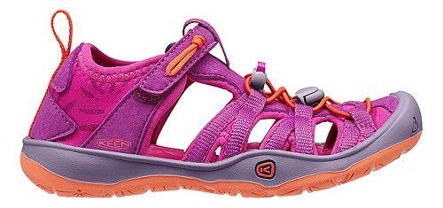 Kids Keen Moxie Sandals Shoe - Purple Wine 10C