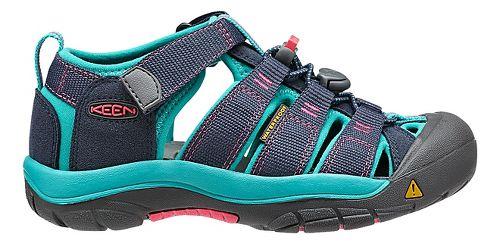 Kids Keen Newport H2 Sandals Shoe - Navy/Baltic 12C