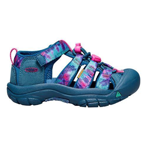 Kids Keen Newport H2 Sandals Shoe - Navy Tie Dye 11C