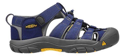 Kids Keen Newport H2 Sandals Shoe - Blue/Gargoyle 9C