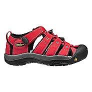 Kids Keen Newport H2 Sandals Shoe - Ribbon red/gargoyle 9C