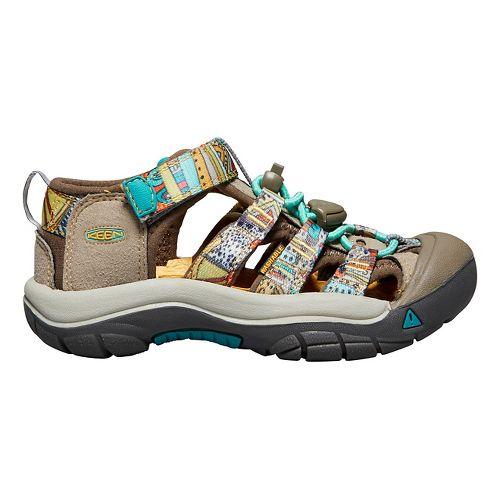 Kids Keen Newport H2 Sandals Shoe - Beeswax Print 5Y