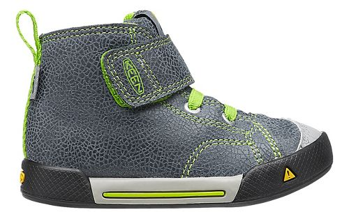Kids Keen Encanto Scout High Top Casual Shoe - Black/Macaw 5C