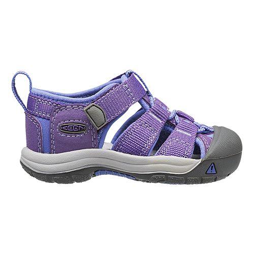 Kids Keen Newport H2 Sandals Shoe - Blue/Gargoyle 4C