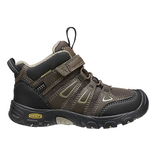 Kids Keen Oakridge Mid WP Casual Shoe - Cascade Brown 10C