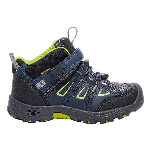 Kids Keen Oakridge Mid WP Casual Shoe - Navy/Macaw 10C