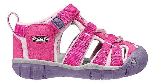 Kids Keen Seacamp II CNX Sandals Shoe - Very Berry/Lilac 5C