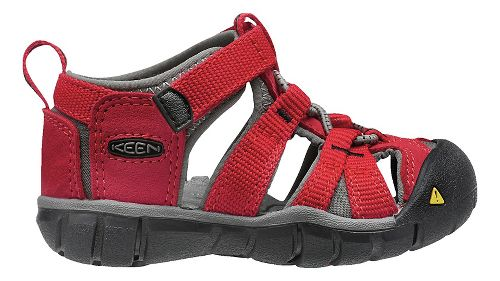Kids Keen Seacamp II CNX Sandals Shoe - Racing  Red 7C