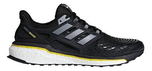 Mens adidas Energy Boost 5th Anniversary Running Shoe - Black/Yellow 10
