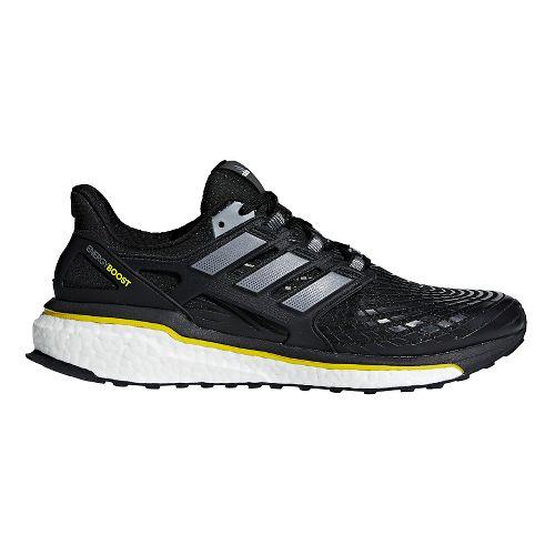 Mens adidas Energy Boost 5th Anniversary Running Shoe - Black/Yellow 9