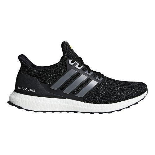 Mens adidas Ultra Boost LTD Running Shoe - Black/Yellow 12.5