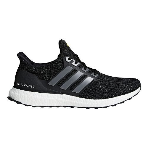 Mens adidas Ultra Boost LTD Running Shoe - Black/Yellow 9.5