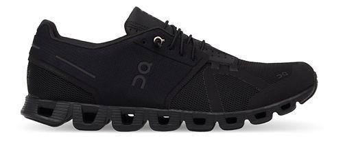 Mens On Cloud Running Shoe - Black/Black 11