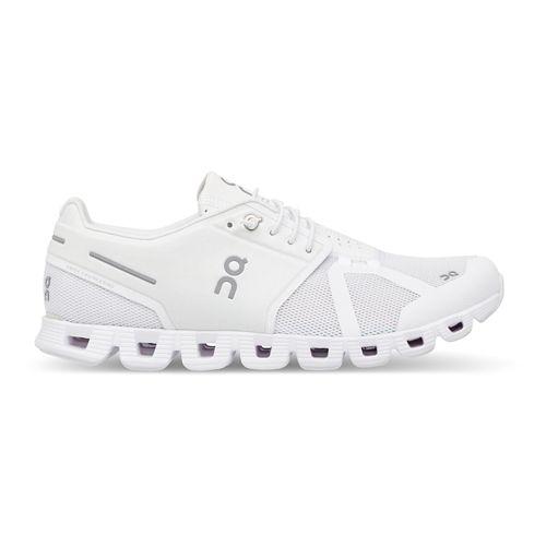 Mens On Cloud Running Shoe - White/White 9.5