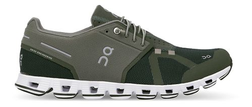 Mens On Cloud Running Shoe - Forest 13