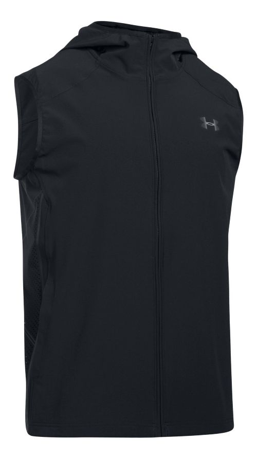 Mens Under Armour Storm Vortex Vests Jackets - Black L