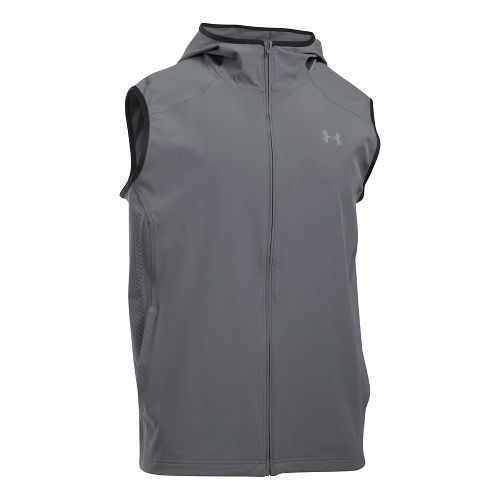 Mens Under Armour Storm Vortex Vests Jackets - Graphite L