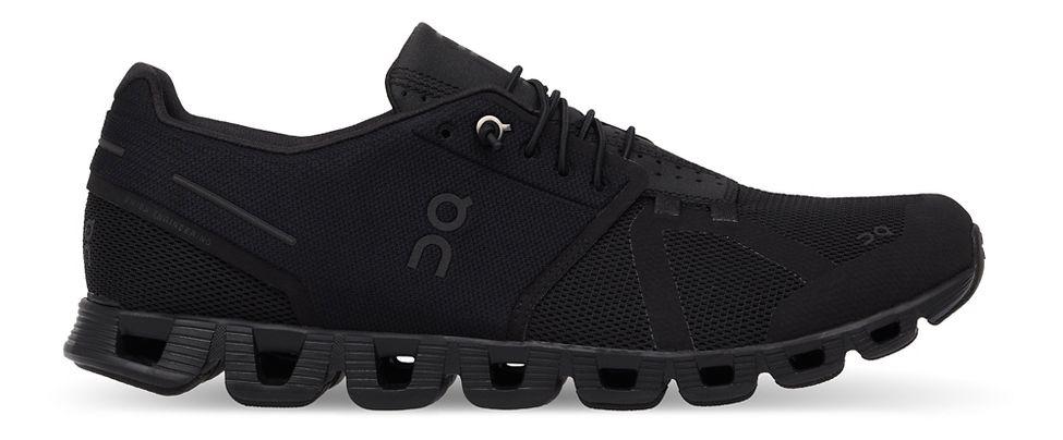 Womens On Cloud Running Shoe - Black/Black 9.5