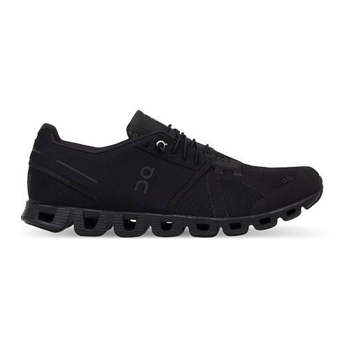Womens On Cloud Running Shoe - Black/Black 7.5