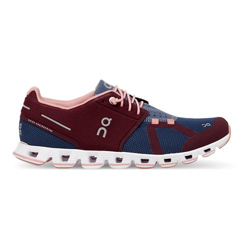 Womens On Cloud Running Shoe - Mulberry 5