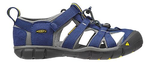 Kids Keen Seacamp II CNX Sandals Shoe - Blue/Gargoyle 1Y