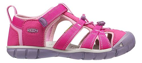 Kids Keen Seacamp II CNX Sandals Shoe - Very Berry/Lilac 9C