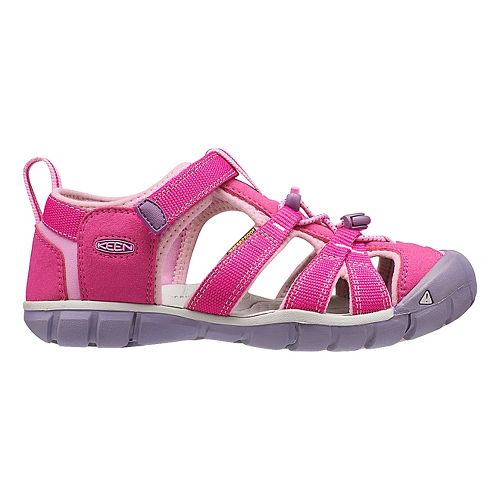 Kids Keen Seacamp II CNX Sandals Shoe - Very Berry/Lilac 6Y