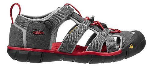 Kids Keen Seacamp II CNX Sandals Shoe - Magnet/Red 5Y
