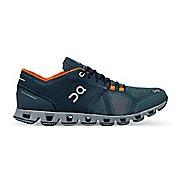 Mens On Cloud X Running Shoe - Storm/Orange 8